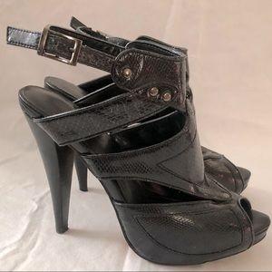 Aldo Gladiator Platform Heels